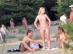 Nude hidden beach cam on spy