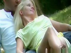 upskirt at park